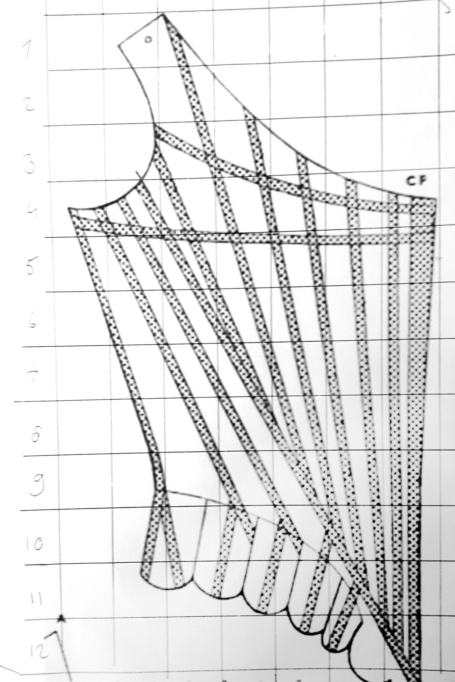 Drawing And Altering A Stays Pattern Ilse Gregoor Costume Design